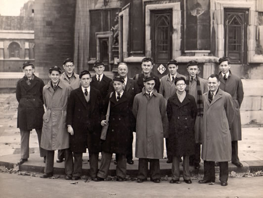 Holford United Kingdom  city photos : Back Row: Hunter, Julian Appleby, Roy Eden, A.W. Lyne Burton Labour ...