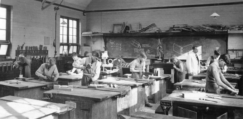 1952 Woodwork